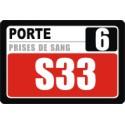 Ecran LCD 10' répétiteur de numéro pour Caisses/Bureau/Poste/... pour LaboBOX TV-MT
