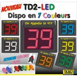 """PACK Minipoint LED """"Onde Radio"""" pour gestion de file d'attente, spécial Laboratoire"""