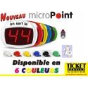 PACK Micropoint Filaire pour gestion de file d'attente spécial commerce alimentaire