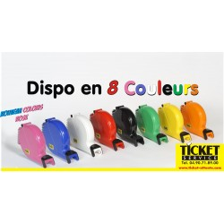 Distributeur de Tickets disponible en 8 couleurs pour gestion de file d'attente