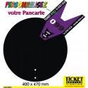Pancarte Ticket (seule) disponible pour les 4 pieds : Jokpied - BlackLux - ChromeLux - InoxLux.