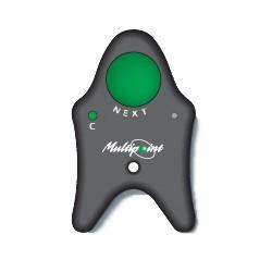 Télécommande Point Vert sans fil (ondes radio) compatibles avec afficheurs MD21, MD31 et MD32